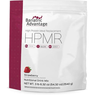 Bariatric Advantage HPMR High Protein Meal Replacement - Available in 8 Flavors! - 35 servings / Strawberry - Meal Replacements