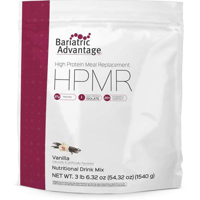Bariatric Advantage HPMR High Protein Meal Replacement - Available in 8 Flavors! - 35 servings / Vanilla - Meal Replacements