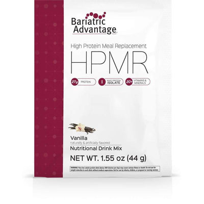 Bariatric Advantage HPMR High Protein Meal Replacement - Available in 8 Flavors! - Single Serve Packet / Vanilla - Meal Replacements