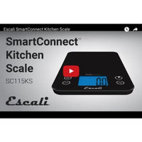 Escali Smartconnect Kitchen Scale - Food Scale