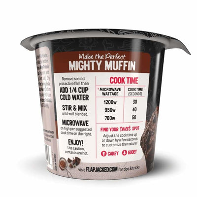 FlapJacked Mighty Muffins with Probiotics - Available in 9 Flavors! - Muffins