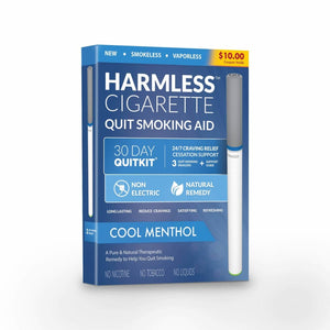 Harmless Cigarette Quit Smoking Aid - Cool Menthol - Single Pack - Smoking Cessation