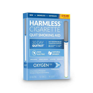 Harmless Cigarette Quit Smoking Aid - Oxygen - Single Pack - Smoking Cessation