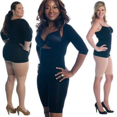 Long Leg Shaper by Slimpressions Shapewear - Shapewear