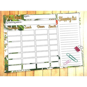 Weekly Meal Planner & Shopping List - Meal Planner
