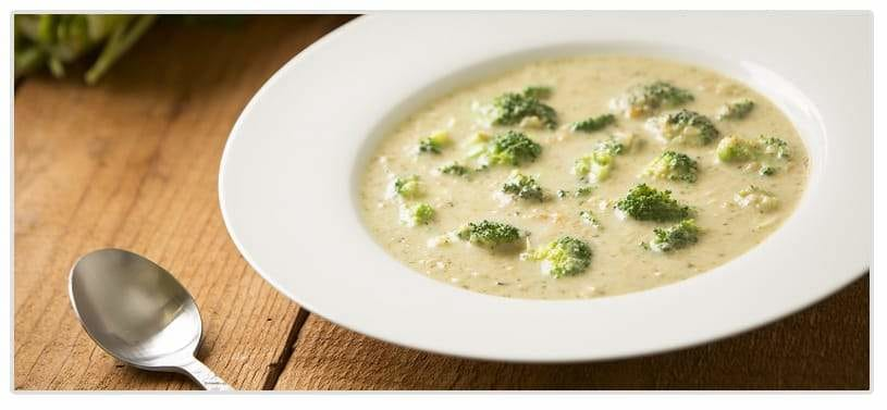 Cream of Chicken and Broccoli Soup