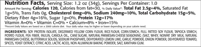 Kays Naturals Protein Puffs - Mac And Cheese