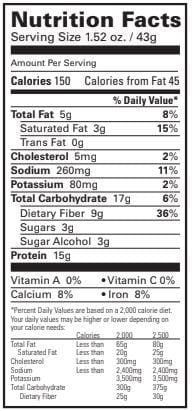 BariatricPal Proti Diet 15g Protein Bars - Peanut Butter and Smooth Caramel Crisp