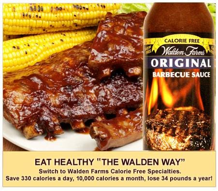 Walden Farms Calorie Free BBQ Sauces - Available in 4 Flavors!