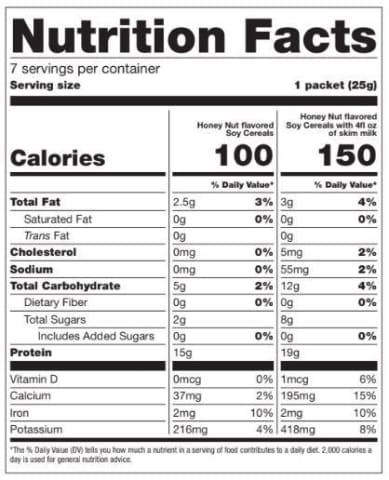 BariatricPal Proti Diet 15g Hot Protein Breakfast - Honey Nut Cereal