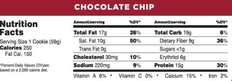 Quest Protein Cookies - Chocolate Chip
