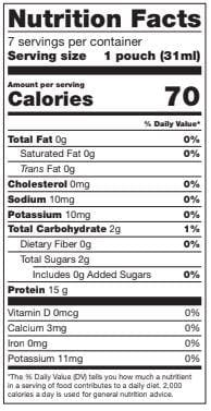 BariatricPal Proti Diet 15g Protein Fruit Concentrates - Grape