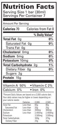 Proti Diet 15g Protein Fruit Concentrates - Peach Mango