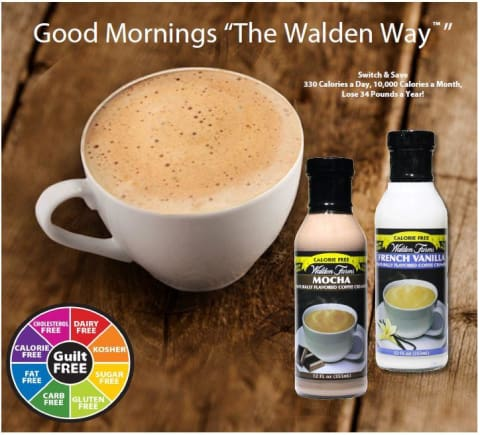 Walden Farms Calorie Free Coffee Creamer - Available in 6 Flavors!