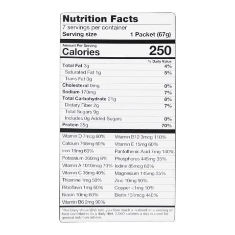 BariatricPal 35g Protein Shake Meal Replacement - Vanilla