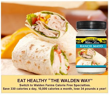 Walden Farms Calorie Free Flavored Mayo - Available in 5 Flavors!