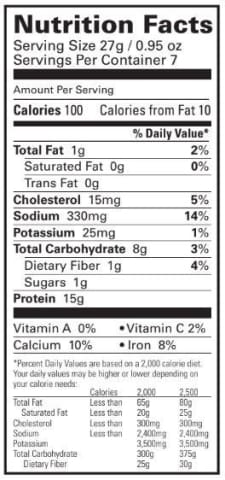 BariatricPal Proti Diet 15g Hot Protein Breakfast - Blueberry Pancake