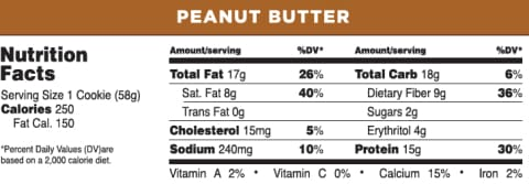 Quest Protein Cookies - Peanut Butter