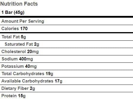 BariatricPal 15g Protein Baked Square - Fudge Brownie