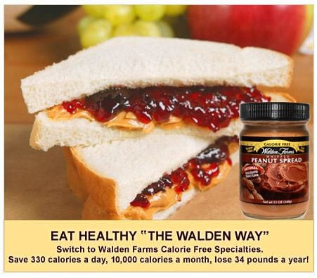 Walden Farms Calorie Free Peanut Spread - Available in 3 Flavors!
