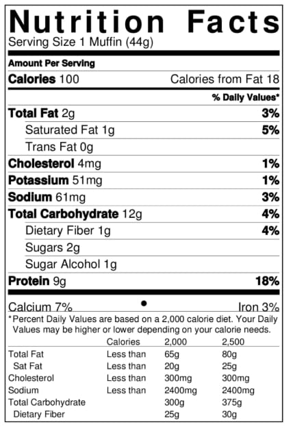 Smart Choice Protein Muffin & Donut Mix - Variety Pack