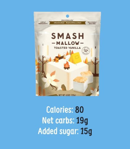 Max Mallow Low Carb Keto Marshmallows by Know Brainer Foods - Variety Pack