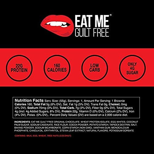 Eat Me Guilt Free High Protein Brownie - Holiday Cheer