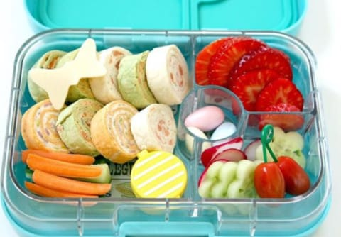 Yumbox Leakproof MiniSnack Box Portion Control Container (3-compartment)