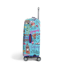 Load image into Gallery viewer, Travel Journal - Reversible Luggage Cover