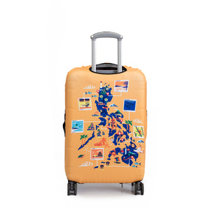 Discover Philippines - Reversible Luggage Cover