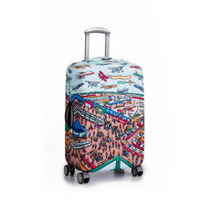 Load image into Gallery viewer, Where is Wanderskye - Reversible Luggage Cover