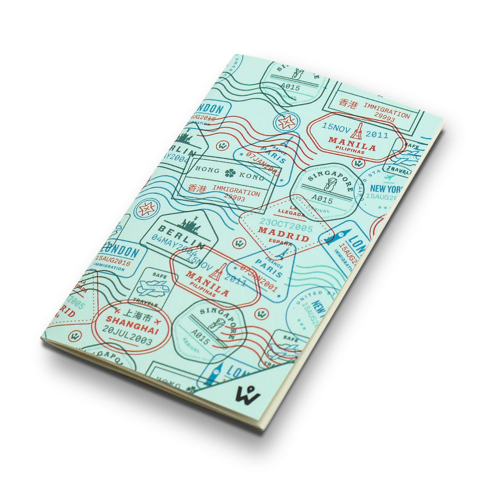 Travel Stamps Notebook