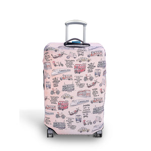 In Transit - Reversible Luggage Cover