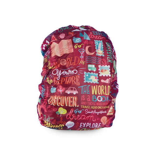 Quote Guru - Backpack Cover
