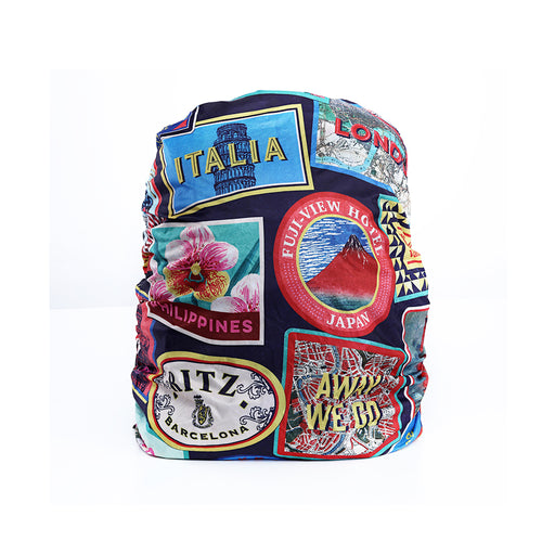 Travel Stamps - Backpack Cover