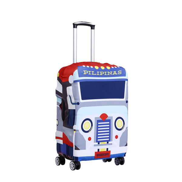 """PILIPINAS JEEPNEY"" LUGGAGE COVER"