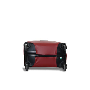Minimalist Luggage Cover - Maroon
