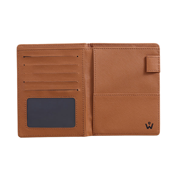 BROWN PREMIUM PASSPORT COVER