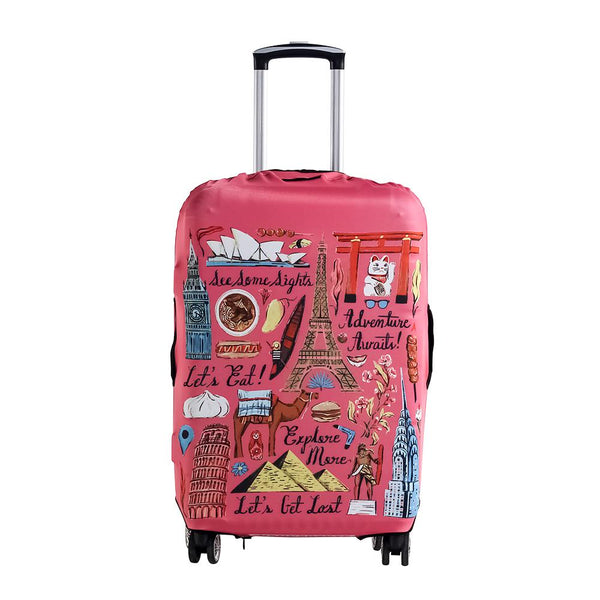 Bucket List Reversible Luggage Cover