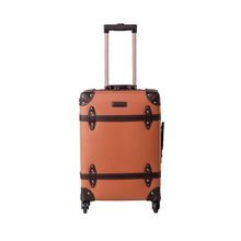 Load image into Gallery viewer, Caramel Vintage Luggage