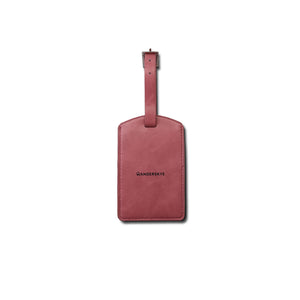 Bag Tag (Smooth Vegan Leather) - Pink