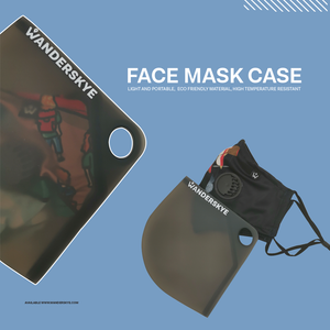 Face Mask Case - Green (Preorder)