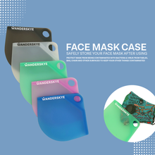 Load image into Gallery viewer, Face Mask Case - Blue