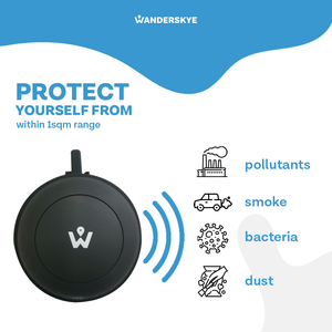 Personal Mini Air Purifier - White