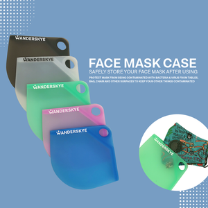 Face Mask Case - White