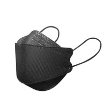 Load image into Gallery viewer, KF94 Adult Face Mask | Black (10 pcs per pack)