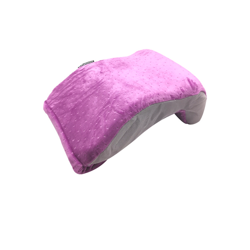 Back Pillow Premium Memory Foam (Purple)