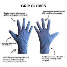 Load image into Gallery viewer, Grip Gloves (Blue)