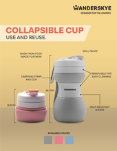 Load image into Gallery viewer, Collapsible Cup | Pink