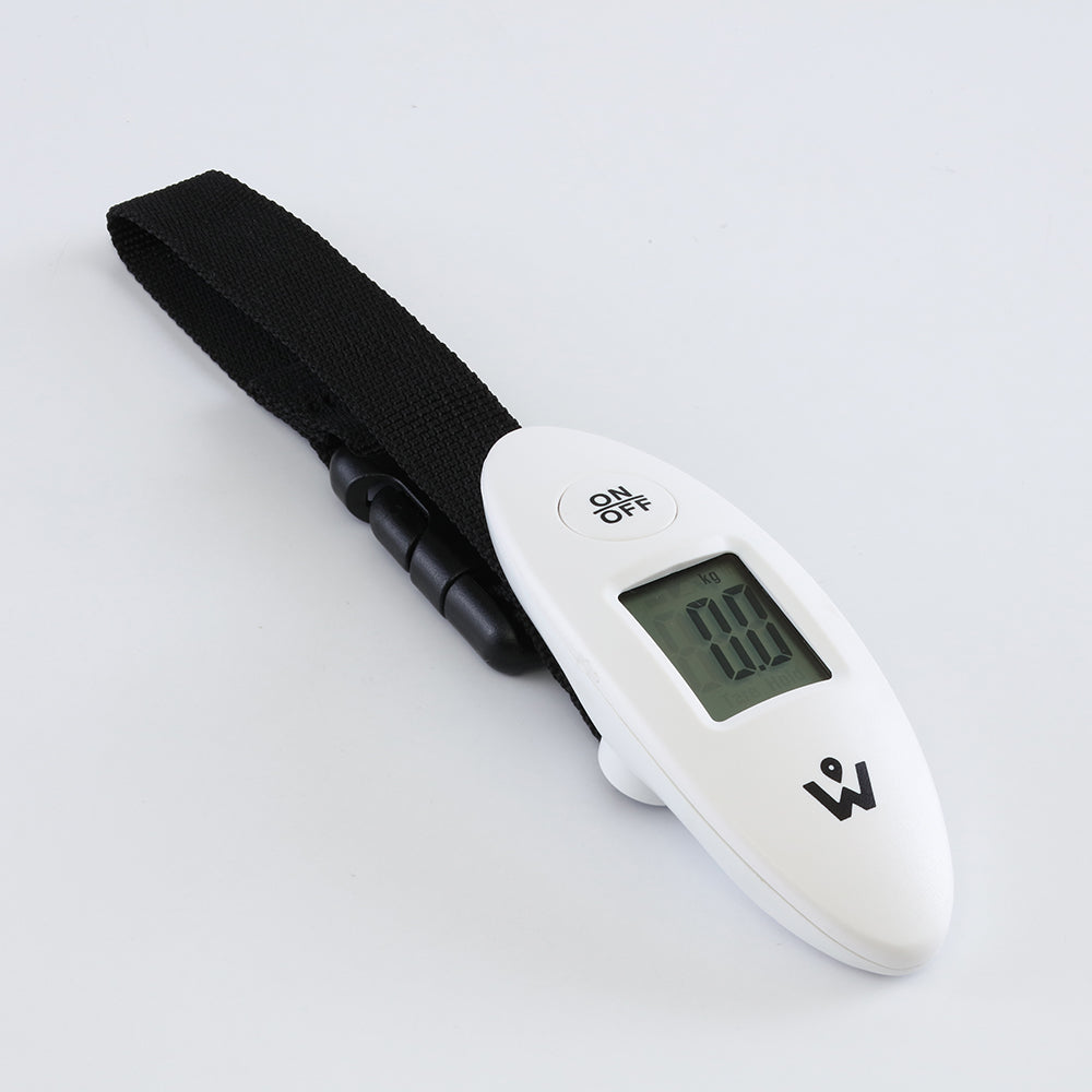 Digital Weighing Scale (Compact White)
